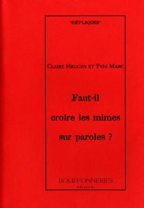 couverture livre-les mimes